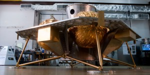 Griffin robotic moon lander. Credit: Astrobotic Technology