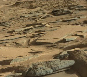Mast Camera (Mastcam) (MSSS-MALIN) image for Sol 574. Credit: JPL/MSSS-Malin