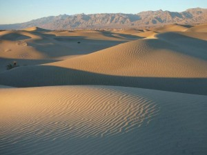 Mesquite Flat Sand Dunes in Death Valley National Park. Credit: National Park Service