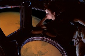 NASA is eyeing future expeditions to Mars, relying on efficient transportation technology. Credit: NASA/Rachael Lussos, The Tauri Group