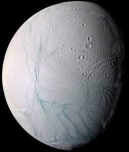 Enceladus Credit: NASA/JPL/CICLOPS/Space Science Institute