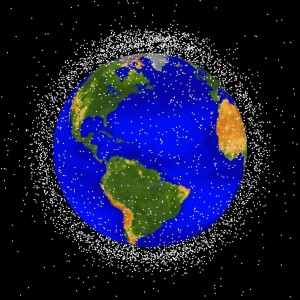 Human-made space clutter - a problem now and into the future.