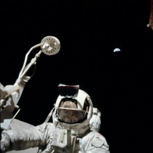 Off-world geologist, Apollo 17's Jack Schmitt.  Credit: NASA