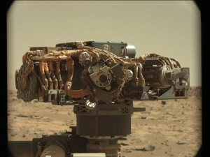 21st century machinery - NASA's Curiosity rover. Image Credit: NASA/JPL-Caltech/MSSS