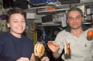 Six crew members living on Mars for 1,095 days will require 12,023 kilograms of food.  Credit: NASA