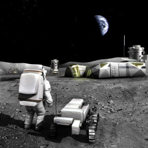 Access to the Moon's resources is up for grabs - a debate that is growing globally. Credit: ESA - AOES Medialab