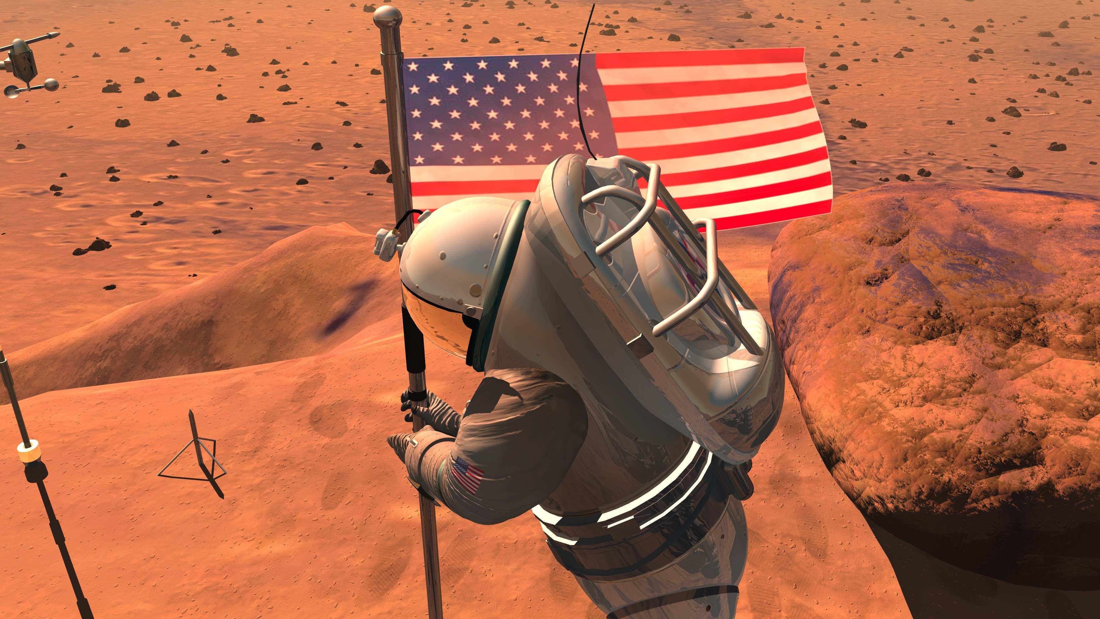 nasa mars landing human - photo #16