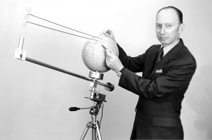 Father of solar power satellite idea, Peter Glaser. Credit: AD Little, Inc.