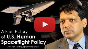 Video outlines major decisions that shaped U.S. human spaceflight in the 20th century.  Credit: NRC