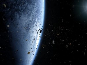 Earth orbit is a junkyard of human-made space clutter. Credit: Space Junk 3D, LLC. Melrae Pictures