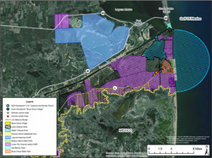 Proposed SpaceX Texas Launch Site in Cameron County, Texas. Credit: FAA Record of Decision