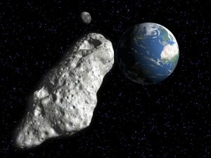 Mining asteroid resources loom large in the future. Courtesy: Texas A&M