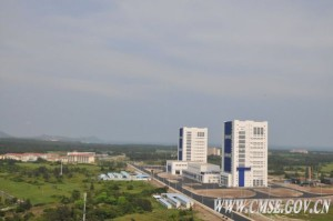 China's new spaceport on Hainan Island. Credit: CMSE