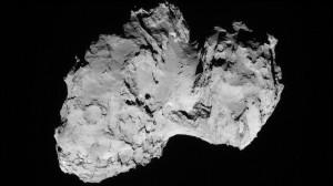 Target: Comet 67P/Churyumov-Gerasimenko Credit: ESA/DLR
