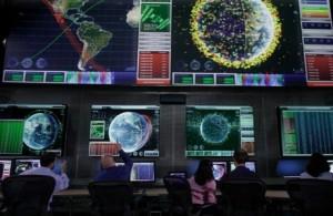 Orbital debris is a space environmental problem. Credit: Lockheed Martin