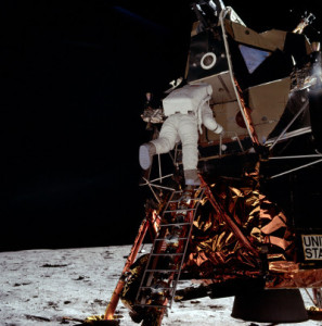 New computer graphics have been used to debunk the debunkers regarding historic Apollo 11 lunar landing. Credit: NASA