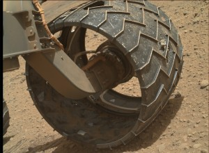 NASA's Mars rover Curiosity acquired this image using its Mars Hand Lens Imager (MAHLI), located on the turret at the end of the rover's robotic arm, on September 9, 2014, Sol 744 of the Mars Science Laboratory Mission, at 13:57:44 UTC. Image Credit: NASA/JPL-Caltech/MSSS