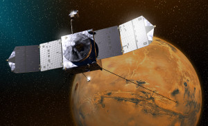 NASA's MAVEN spacecraft is nearing arrival time at Mars. Credit: NASA/GSFC