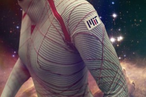 The MIT BioSuit is a skintight spacesuit that offers improved mobility and reduced mass.  Credit: Photo-illustration: Jose-Luis Olivares/MIT