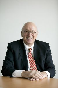 OHB founder, Manfred Fuchs, who died early this year. Credit: OHB