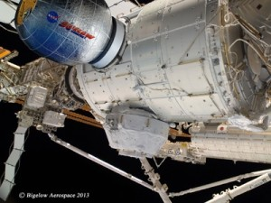 Bigelow Expandable Activity Module (BEAM) is set for deployment on the International Space Station next year. Credit: Bigelow Aerospace