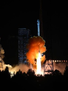 Long March-3C rocket lifts off from the Xichang Satellite Launch Center carrying China's new Moon test spacecraft. Credit: China Space