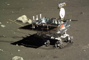 China's Yutu Moon rover.  Credit: Chinese Academy of Sciences