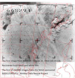 Early NIMBUS photo. Credit: NASA