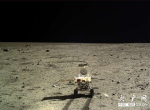 Yutu Rover wheels across Moon. Credit: Chinese Academy of Sciences
