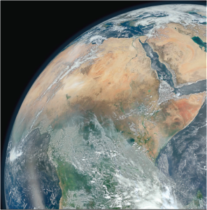"""This """"Blue Marble"""" image was created from images taken January 23, 2012, during six orbits of the Suomi National Polar-orbiting Partnership satellite, using the Visible Infrared Imaging Radiometer Suite (VIIRS). Credit: NASA/NOAA"""