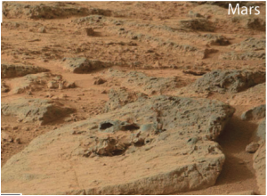 Curiosity rover Mastcam photograph of a plateau in the < 3.7 Ga Gillespie Lake Member, Mars. Credit: NASA/JPL-Caltech/MSSS