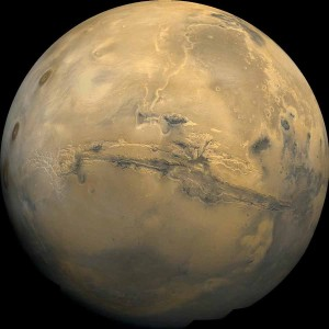 Mars life: Yes, no, maybe, could be, might have been. Credit: NASA/USGS