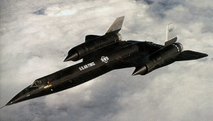 A-12 aircraft, one of several types of vehicles developed under the OXCART program. Credit: CIA