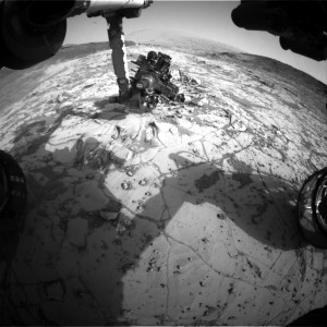 This image was taken January 16 by Front Hazcam: Right B onboard NASA's Mars rover Curiosity on Sol 869. Image Credit: NASA/JPL-Caltech