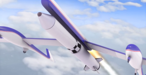 NASA's satellite launching concept is called the Towed Glider Air-Launch System, or TGALS.  Credit: NASA