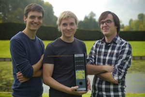 SpaceBillboard is the initiative of three PhD researchers in engineering at the University of Leuven (Belgium). Credit: SpaceBillboard.com