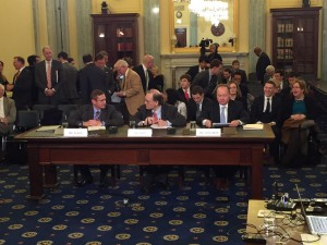Exploration and commercial space witnesses took part in Senate Hearing. Credit: Ted Cruz Twitter