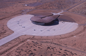 New Mexico's Spaceport America. Credit: Spaceport America