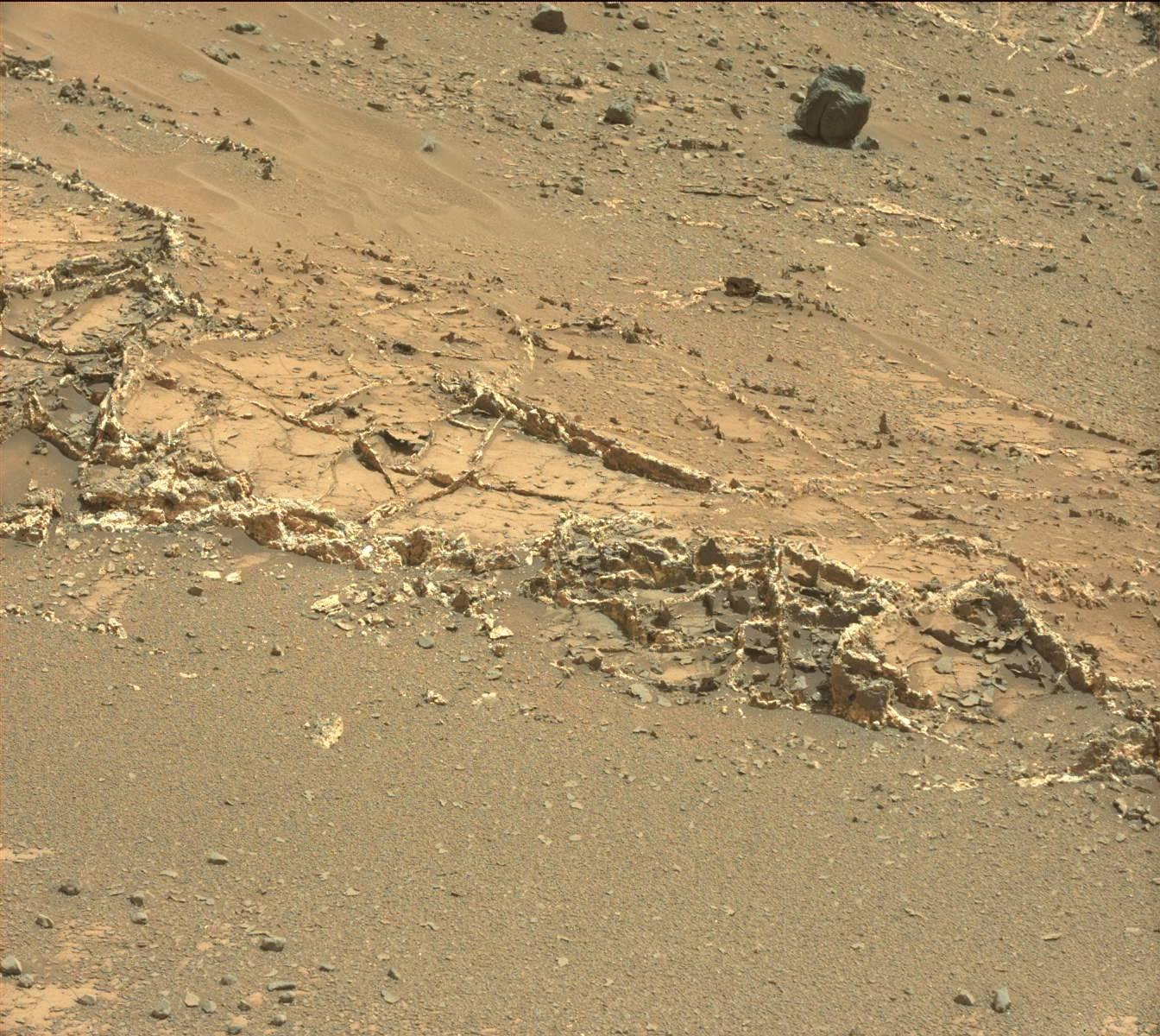 "Curiosity Mars Rover's ""Artistic"" View"