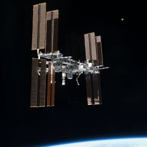 ISS PHOTO FROM ATLANTIS
