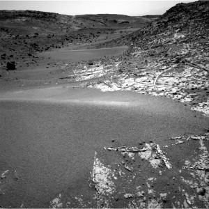 This image was taken by Navcam: Right B (NAV_RIGHT_B) onboard NASA's Mars rover Curiosity on Sol 926 (2015-03-15 15:04:51 UTC).   Image Credit: NASA/JPL-Caltech