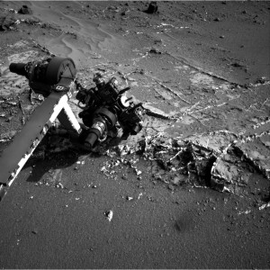 This image was taken by Navcam: Right B onboard NASA's Mars rover Curiosity on Sol 937 (2015-03-27). Image Credit: NASA/JPL-Caltech