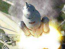 NASA's Space Launch System. Credit: NASA