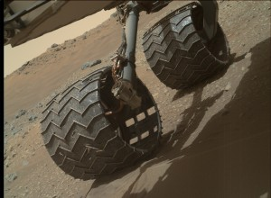 NASA's Mars rover Curiosity acquired this image using its Mars Hand Lens Imager (MAHLI), located on the turret at the end of the rover's robotic arm, on April 17, 2015, Sol 958. Image Credit: NASA/JPL-Caltech/MSSS