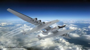 One future payload for Stratolaunch Systems is a Sierra Nevada's Dream Chaser space plane. Credit: Sierra Nevada