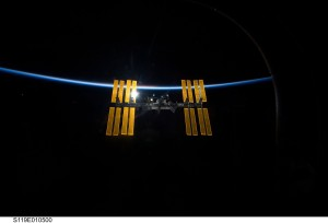 International Space Station to serve as recycling site. Credit: NASA
