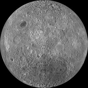 The lunar far side as imaged by NASA's Lunar Reconnaissance Orbiter using its LROC Wide Angle Camera. Credit: NASA/Goddard/Arizona State University