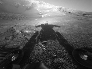 Still beaming after all these years - NASA's Opportunity Mars rover. Credit: NASA/JPL