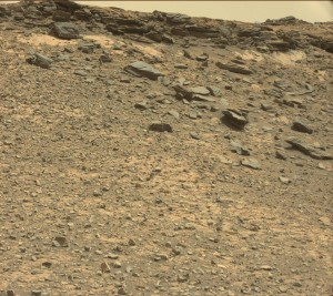 This image was taken by Mastcam: Left onboard NASA's Mars rover Curiosity on May 20, Sol 990. Credit: NASA/JPL-Caltech/MSSS