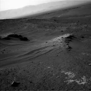 This image was taken by Curiosity's Navcam: Left B on May 20, Sol 990. Credit: NASA/JPL-Caltech